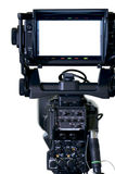 TV professional cameras viewfinder. For combination with your image royalty free stock photo