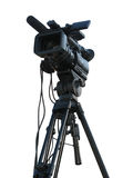 TV Professional studio digital video camera Royalty Free Stock Images