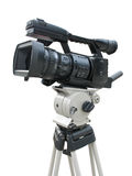 TV Professional studio digital video camera Stock Photography