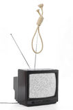 TV and public opinion concept Stock Photography
