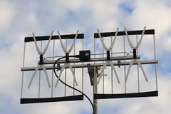 TV and radio antenna / aerial Royalty Free Stock Photo