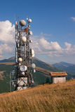 Antenna tv and radio Stock Photos