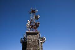 TV relay from Sinaia 1400m altitude Royalty Free Stock Photos