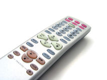 TV remote. Closeup of TV Remote Royalty Free Stock Photos