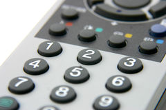 TV Remote 2. Tv remote - channels royalty free stock photos