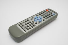 TV Remote. Control on white background Royalty Free Stock Image