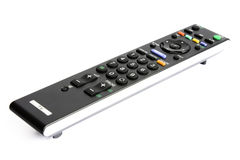Tv remote. Photo of tv remote isolated on white background Royalty Free Stock Photography