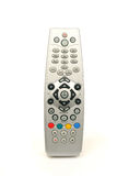 TV remote control. On a white background Royalty Free Stock Photo