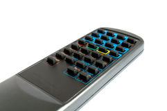 TV Remote control. Isolated on white background Stock Images
