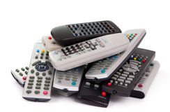 TV Remote Control Stock Photography