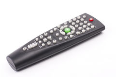 TV remote control. On white Royalty Free Stock Image