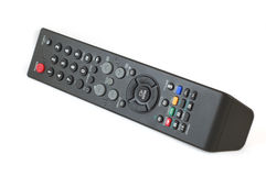 TV Remote control. Isolated on white background Royalty Free Stock Photography