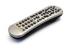 TV Remote Control. On a white background Royalty Free Stock Images