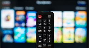 TV remote control. Stock Photography