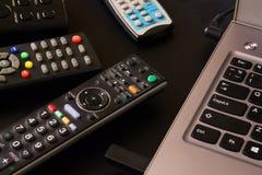 TV Remote Control stock photos