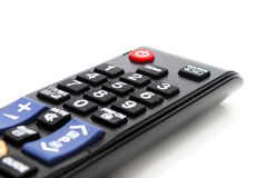 TV Remote Control Closeup Stock Photography
