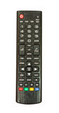 TV remote control. Royalty Free Stock Image