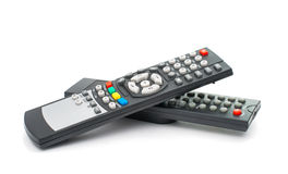 TV Remote Control Isolated Royalty Free Stock Photography