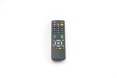 TV remote control isolated Stock Photos