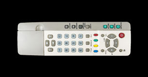 TV remote control isolated Royalty Free Stock Images
