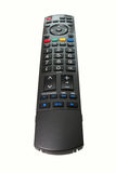 TV Remote Control isolated with clipping path. Royalty Free Stock Photos