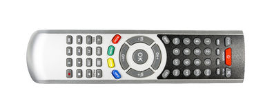 TV remote control isolated Stock Images