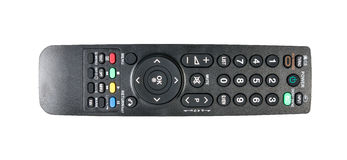 TV remote control isolated Royalty Free Stock Photo