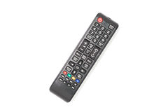 TV remote control isolated on white background. Royalty Free Stock Photography