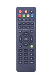 TV remote control isolated on white Royalty Free Stock Photos