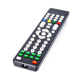 TV remote control isolated on white Royalty Free Stock Images