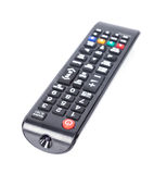 TV remote control isolated on white Royalty Free Stock Photo