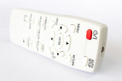 TV remote control isolated on white Royalty Free Stock Image