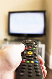 Tv remote control Royalty Free Stock Image