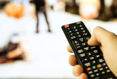 TV remote control. Stock Images