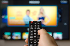 TV remote control. Royalty Free Stock Images