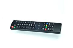 TV remote control with shadow Stock Images