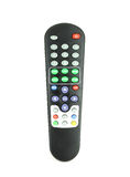 TV remote control on white Royalty Free Stock Images