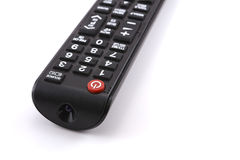 Tv remote control. On white background Stock Photos