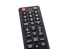 Tv remote control. On white background Royalty Free Stock Image