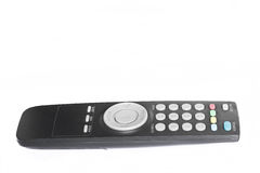 Tv remote control. On white background Stock Image