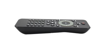 TV remote control on white background Stock Photography