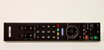 TV remote controller in white Royalty Free Stock Photo