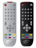 TV remote controls Royalty Free Stock Photography