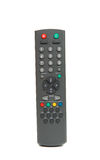 TV remote isolated royalty free stock image