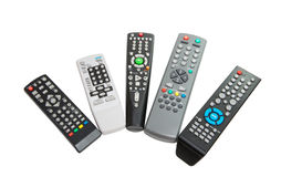 TV remote isolated Stock Images