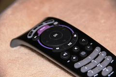 TV remote, on light background Royalty Free Stock Photo