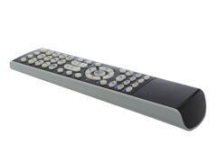 TV remote on white with clipping path Stock Image