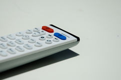 Tv remote stock photos