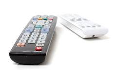 Tv remotes Royalty Free Stock Photography
