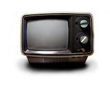 TV retra Imágenes de archivo libres de regalías